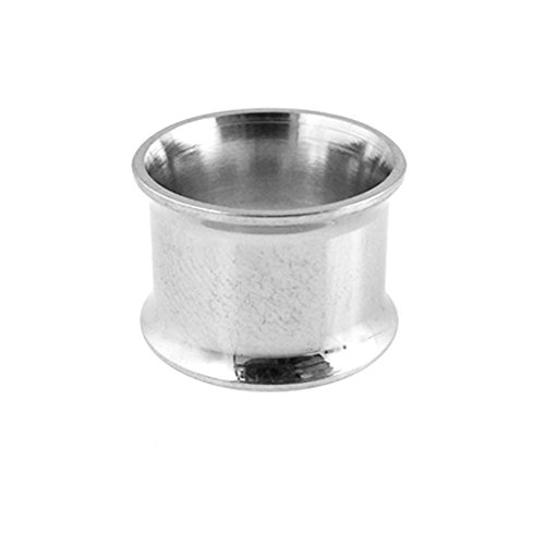 316L Surgical Stainless Steel Double Flared Tunnel Ear Plugs Body Jewelry