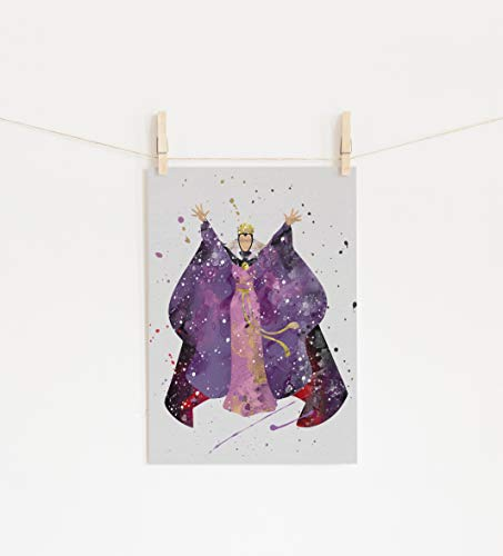Snow White Prints - Evil Queen Snow White Wall Art Print Room Decor