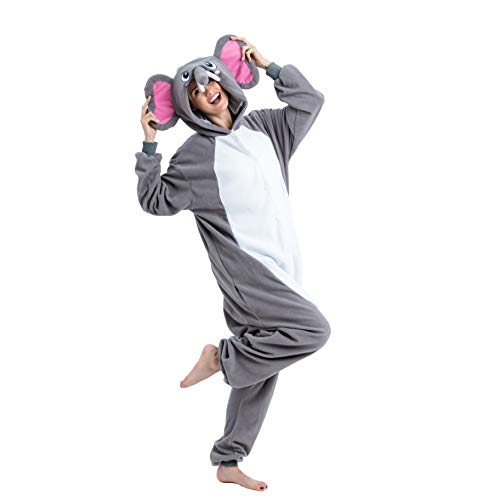 Spooktacular Creations Unisex Adult Pajama Plush Onesie