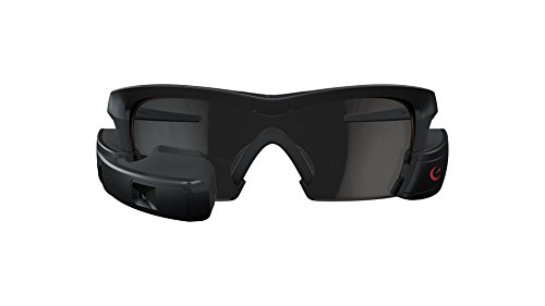Recon Jet Smart Eyewear for Sports and Fitness - Black