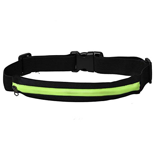 eJiasu Running Belt, bolsa de running ajustable para la cintura para el iPhone 6S Plus / 6 Plus / 6S / 6 Samsung Galaxy S7 S8...