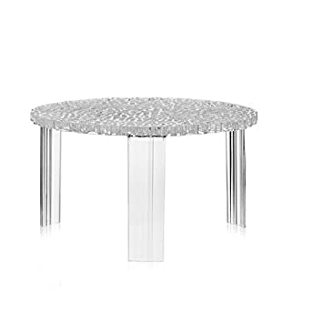 Kartell 8502B4 Tisch T-Table transparent glasklar: Amazon.de: Küche ...