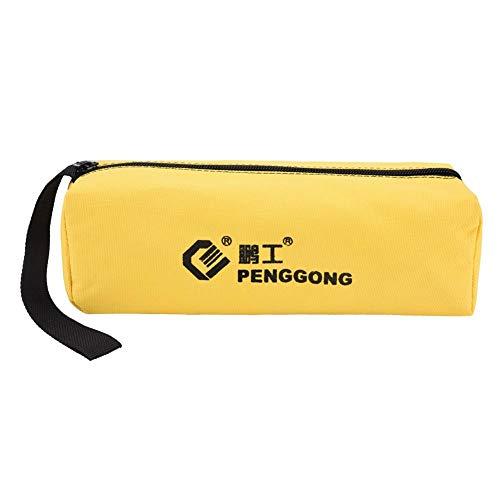 Multi-Function Canvas Zipper Tool Bag Portable Electrician Wrist Tool Storage Bag Waterproof Professional Canvas Bag - Multi-Color Optional