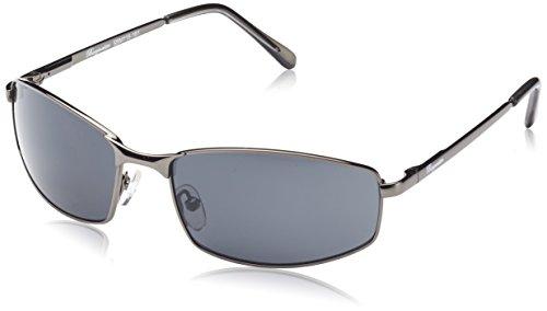 Burgmeister Herren SBM116-181 Rechteckig Sonnenbrille, Grey