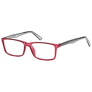 DALIX Womens Prescription Eyeglasses Frames 52-15-140-33 RXable in Rose GLS-D16127
