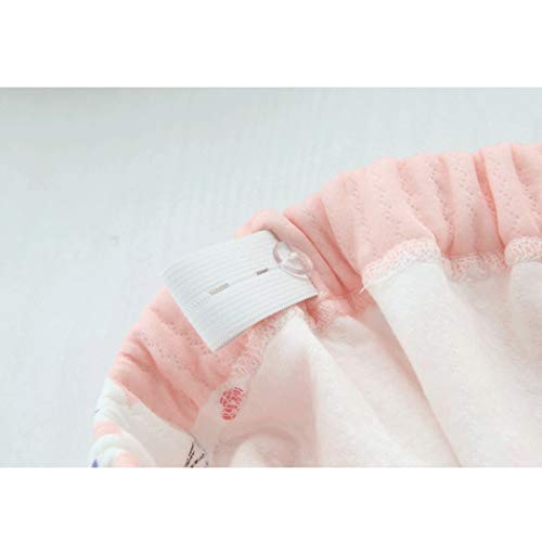 Pink Primavera Amamantar Huifang Tamaño color Pijamas Después L Modelos Parto De Estampado Mujer Y Otoño Algodón Del Para Botones Pink Maternidad qqETxz