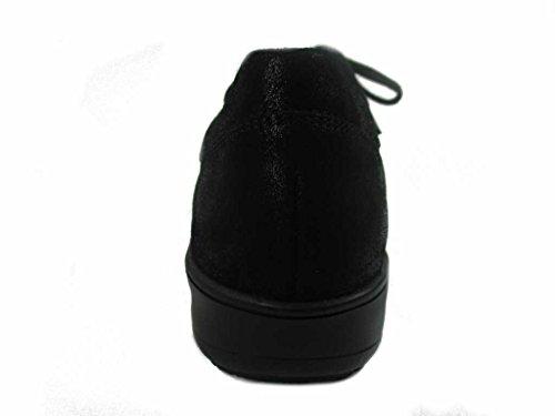 Piel Solidus Lisa cordones 2903900494 para mujer negro de Zapatos de XBZ1q