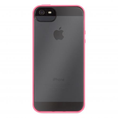 Griffin GB35993 Back Case - Essential - Reveal - Apple iPhone 5/5S/5SE - Fluo Fire/Transparent