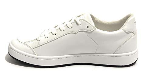 Us19tj05 Jeans Trussardi Sneaker Colore Uomo Ecopelle Bianco YY0rqw