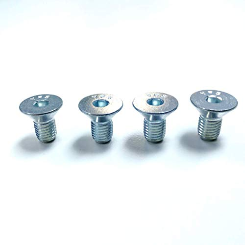 Water Pump Bolt Set - Pirate Mfg SBC Chevy BBC Aluminum Water Pump Pulley Bolts Zinc Tapered 350 454 305 383
