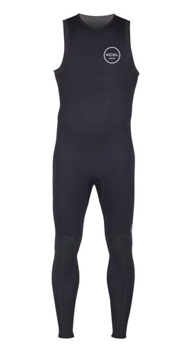 Xcel 2mm Axis Long John Wetsuit, Black, X-Large