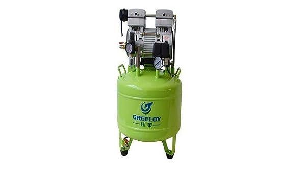 greeloy Compresor De Aire Silencioso Sin Aceite ga-81 por mejor Dental: Amazon.es: Salud y cuidado personal