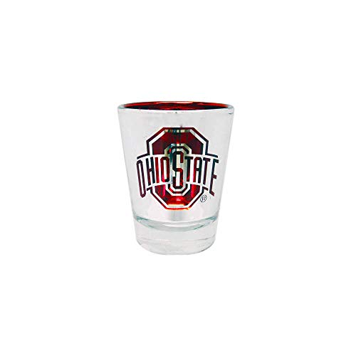 Ohio State Buckeyes Laser Cut Classic Tabletop Shot Glass