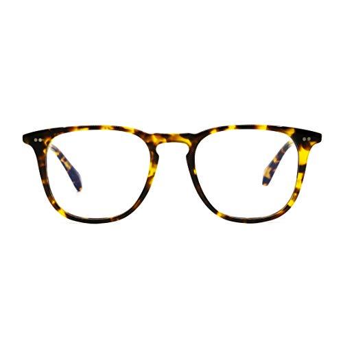 DIFF Eyewear - Maxwell - Designer Square Sunglasses for Men & Women - 100% ()
