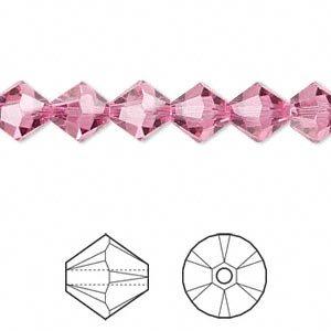 Swarovski Crystal 5328 8mm XILION Rose Bicones - 12 ()