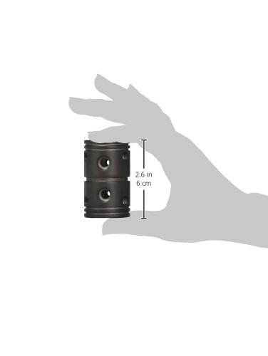 Emerson CFDCORB Downrod Coupler Oil Rubbed Bronze 43 Piece by Emerson (Image #1)'