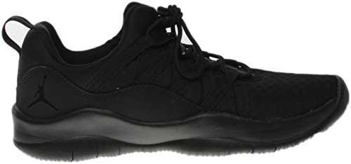 Nike Youth Jordan Deca Fly Synthetic Trainers Black