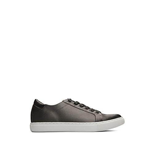 - Kenneth Cole New York Women's Kam Low Profile Fashion Sneaker Satin, Charcoal 8 M US