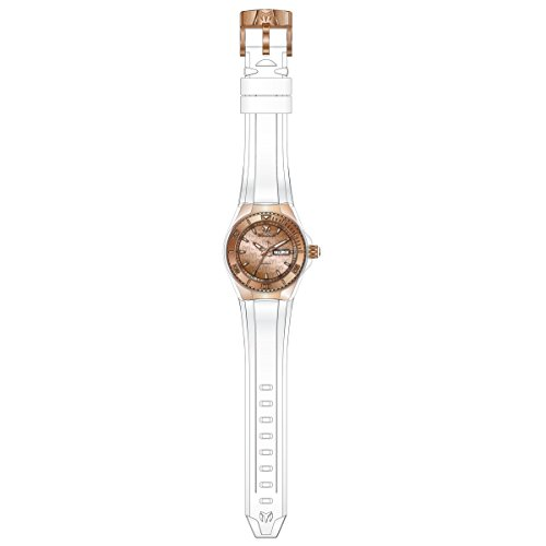 Technomarine Women's TM-115001 Cruise Monogram Analog Display Japanese Quartz White Watch