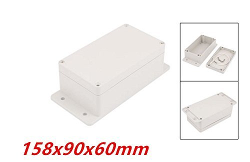 85x60x34mm XJS Dustproof IP65 Rectangle Project Enclosure Case DIY Electronic Wiring Junction Box