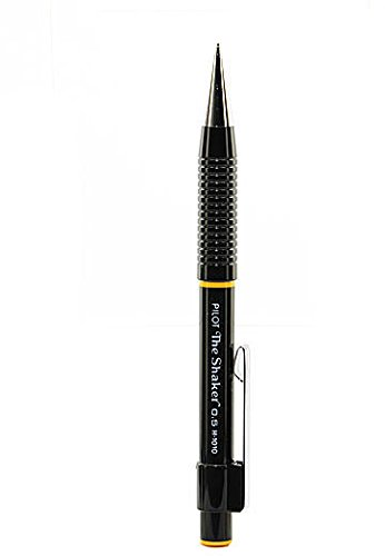 Black Body BXW1375A Pentel Multi Function Pen Vicuna EX Fine Ballpoint Pen and 0.5mm Mechanical Pencil