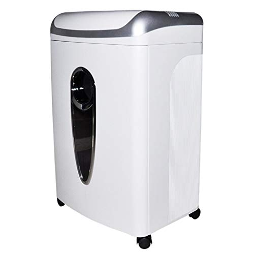 Intelligent Shredder, Commercial Office Double Entrance Broken Disc/Broken Card 12 Pieces of Shredded Paper, Level 4 Confidentiality, 295W High Power, 20L Capacity, Document Shredder