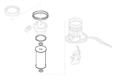 MINI Cooper Fuel Filter OEM Gen1 R50 R52 R53