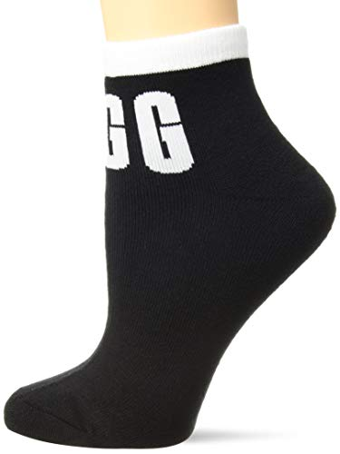 UGG Accessories Women's W UGG Ankle Sock, Black, O/S for sale  Delivered anywhere in USA