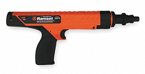Ramset Powder Actuated Gun, Semi Auto, 27 Caliber Includes Safety Glasses SA270 - 1 ()