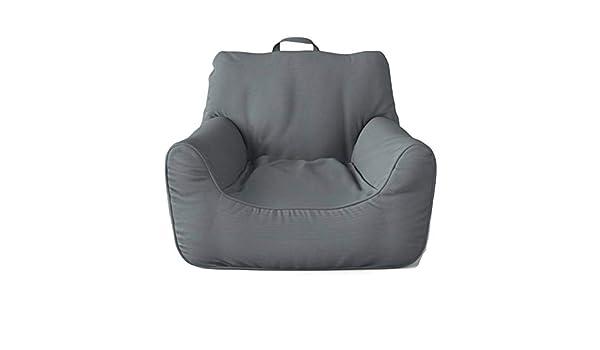 Fantastic Amazon Com Pillowfort Gray Structured Large Bean Bag Chair Machost Co Dining Chair Design Ideas Machostcouk