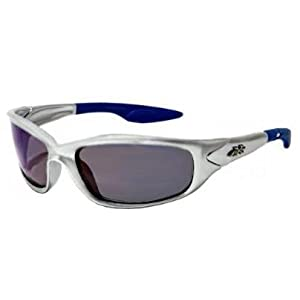 Kids K20 Sunglasses UV400 Rated Ages 3-10 (Silver & Ice Blue)