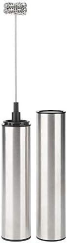 ワンタッチボタン卵ビーター、USB充電式電気卵ビーターミルクコーヒーティースターラーバー自動ミルク泡立て器ツール