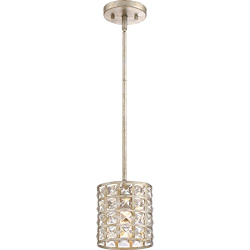 Quoizel LXY1506VG One Mini Pendant, 1 light, Vintage Gold - Vintage Gold Mini