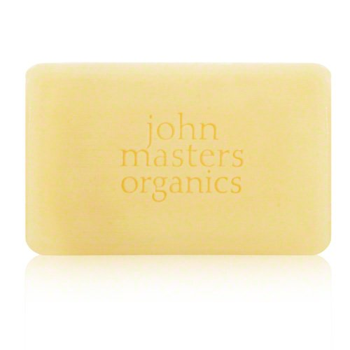John Master Organics Cleansing/Shaving Bar, Birch/Cedarwood, 4.5 Ounce
