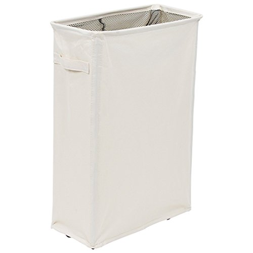 Homiak slim laundry hamper with wheels for clothes storage and organization laundry basket with - Laundry hamper wheels ...