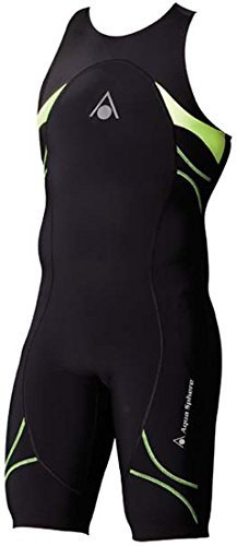 Aqua Sphere Energize Triathlon Speedsuit Male Black/Light Green (Triathlon Speedsuit)
