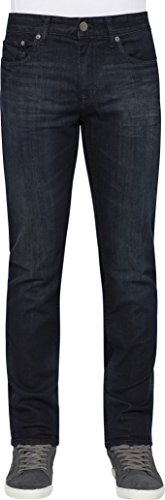 Calvin Klein Men's Slim , Osaka Blue, 36W x 32L (Slim Fit Jeans Ripped Men)