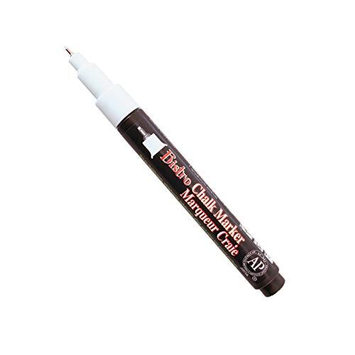 (Uchida of America 485-S-0 Extra Fine Tip Bistro Chalk Marker, White)