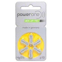 PowerOne Mercury Free Hearing Batteries