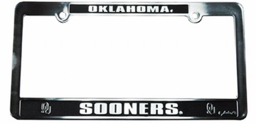 NCAA Oklahoma Sooners Car Tag Frame