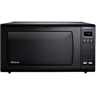 Panasonic NN-H765BF 1.6 Cubic Foot Countertop Microwave Oven with Inverter Technology, Black (B0009KMYHI) | Amazon price tracker / tracking, Amazon price history charts, Amazon price watches, Amazon price drop alerts