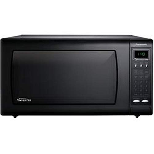 1.6 Cubic Foot Countertop Microwave Oven with Inverter Technology, Black ()