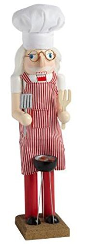 Gift For A BBQ Chef - 15 inch Grill Master Nutcracker
