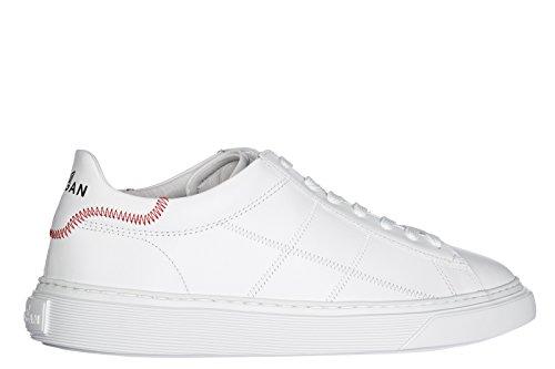 Hogan Scarpe Sneakers Uomo in Pelle Nuove h365 Bianco Comprar Venta Barata Barato Aclaramiento De Disfrutar Comprar El Sitio Oficial Barato el66y7