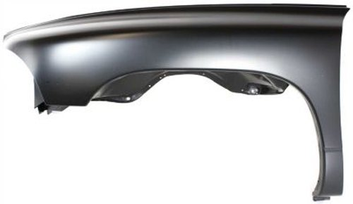 Crash Parts Plus Front Driver Side Primed Fender Replacement for 1997-2004 Dodge Durango, Dakota