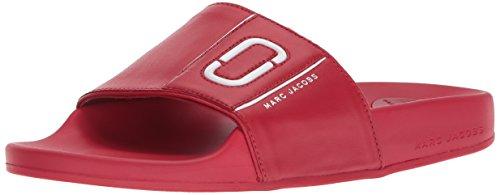 Marc Jacobs Womens Le Sport Cooper Rouge Slide Flip Flop
