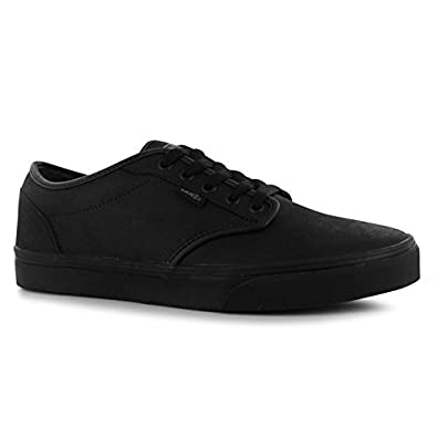 Vans Mens Atwood Buck Leather Skate Shoes Trainers Lace Up Casual   Amazon.co.uk  Shoes   Bags 0aa33cdd4