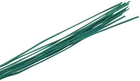 Garten Coated Twist Krawatten Draht Garten Rebe Kletterpflanzen Kabelbinder Pflanze Feste Schnalle Garten Tree Climbing Unterstützung 100Pcs Anlage krawatten (Color : Green, Size : 20cm)