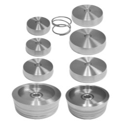 The Main Resource AS9313 1 in. Brake Lathe Truck Adapter Set - 9 Piece by The Main Resource (Image #1)