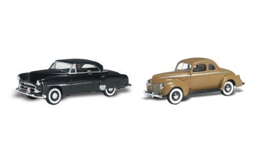 (Woodland Scenics HO Scale AutoScenes Crusin' Coupes)